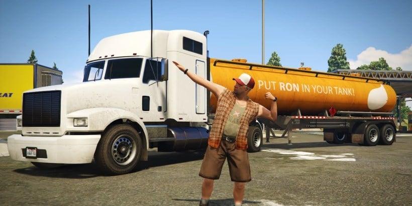 Trucker Ölraffinerie Job