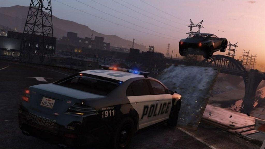 GTA5 RP Polizeijagd