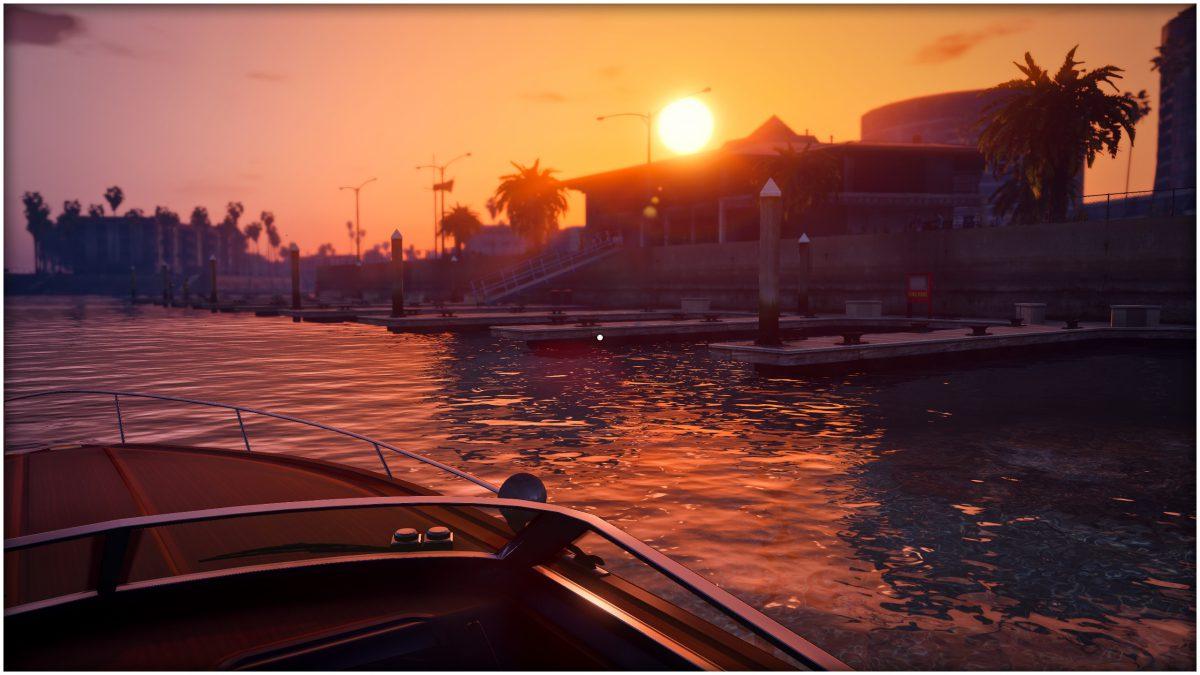 Sonnenuntergang Los Santos San Andreas