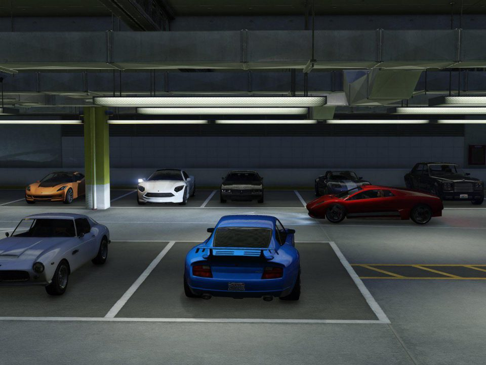 GTA5 Parkhaus