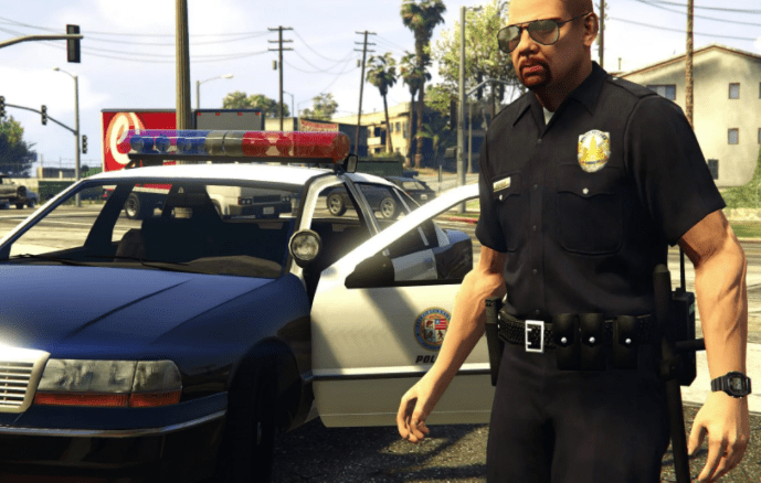 GTA 5 Polizist