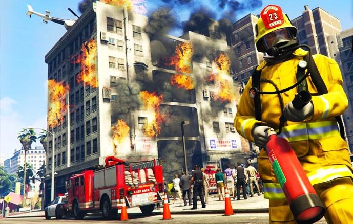 GTA5 Feuerwehr