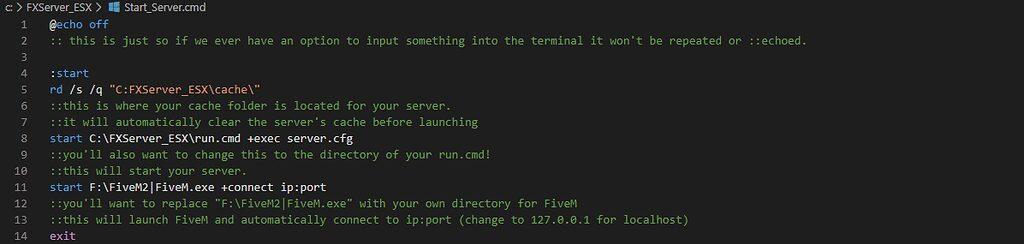 [How-To] Erstellen Sie Ihre eigene ausführbare Datei für FiveM exe + Server.  (FXServer) - Server-Tutorials