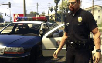 GTA5 Polizist